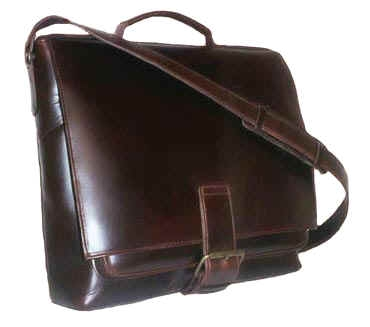 Barrister Leather Messenger bag