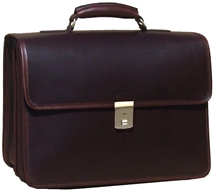 Advocate Leather Briefcase