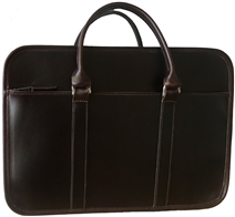Arbitrator Leather Briefcase by Custom Hide