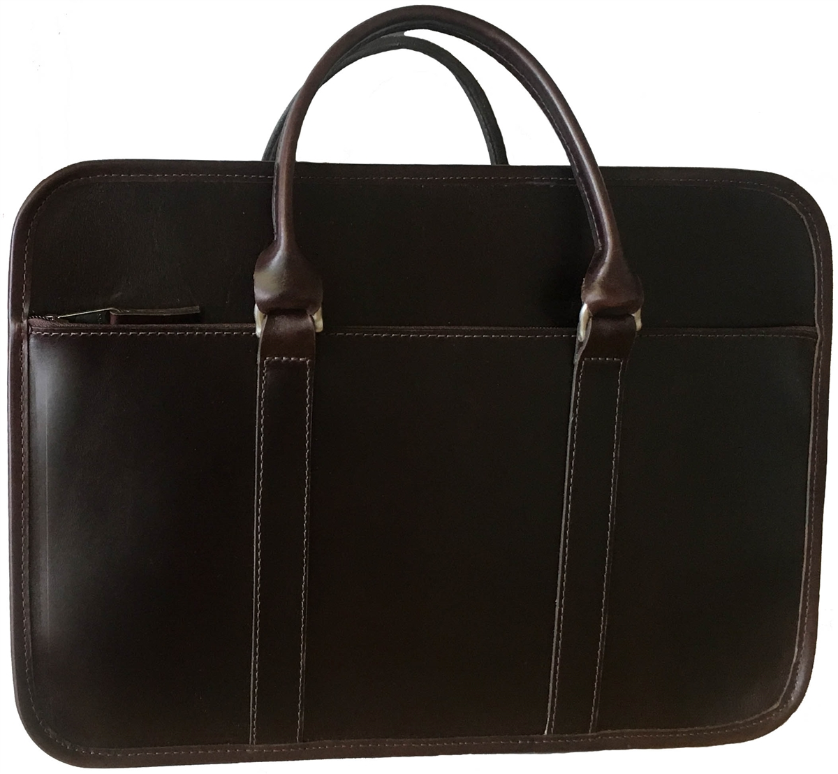 bfde0f7b9 Arbitrator Leather Briefcase by Custom Hide · Larger Photo Email A Friend
