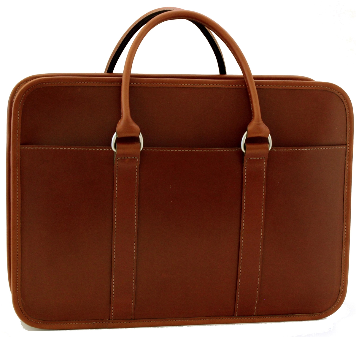 2bd9e13501 Arbitrator leather briefcase. Made in USA | Customhide.com