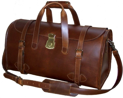 Dispatcher Leather Duffel