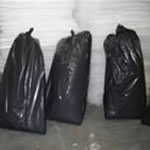 Polythene Black Rubbish Bags (Pack of 10)