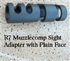 Muzzlecomp w/Plain Face Adapter (Kel-Tec sight bushing removed)
