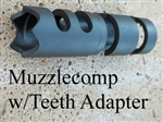 Muzzlecomp w/Teeth Adapter (Kel-Tec sight bushing removed)