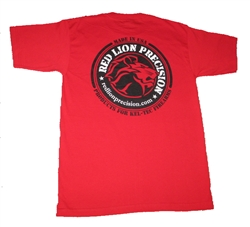 "RLP Red T-Shirt ""ROUND LOGO"""