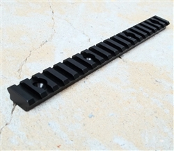 19 Slot Standard Picatinny Rail with hardware