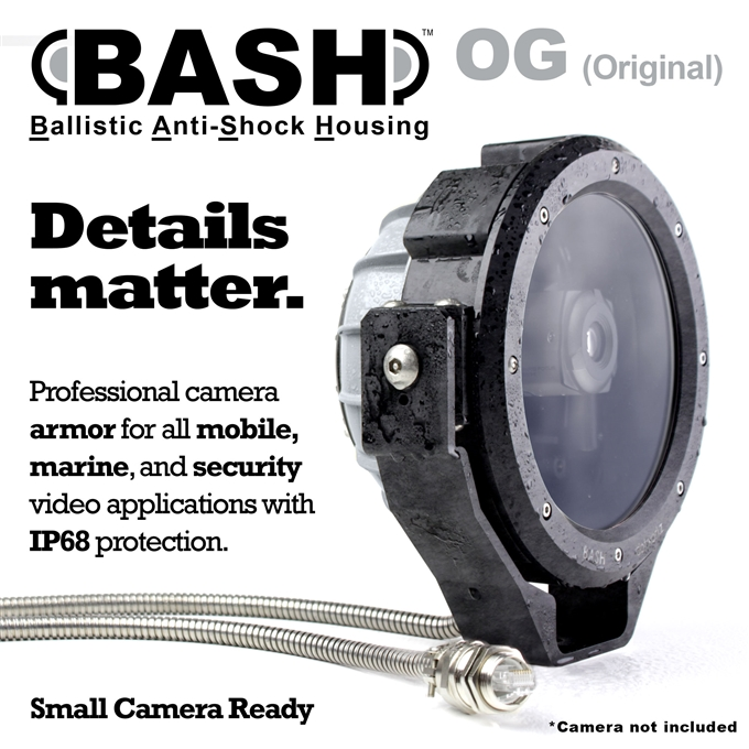 BASH IP68 Small Camera Protection (BASH-OG)