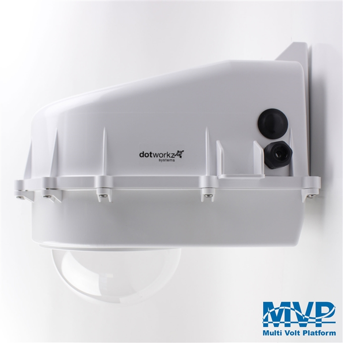 Dotworkz D2 Heater Blower Camera Enclosure IP68 with MVP (D2-HB-MVP)