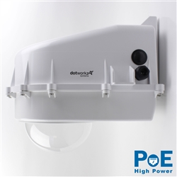 Dotworkz D2 Heater Blower Camera Enclosure IP68 with 60W High Power PoE (D2-HB-POE-HP)