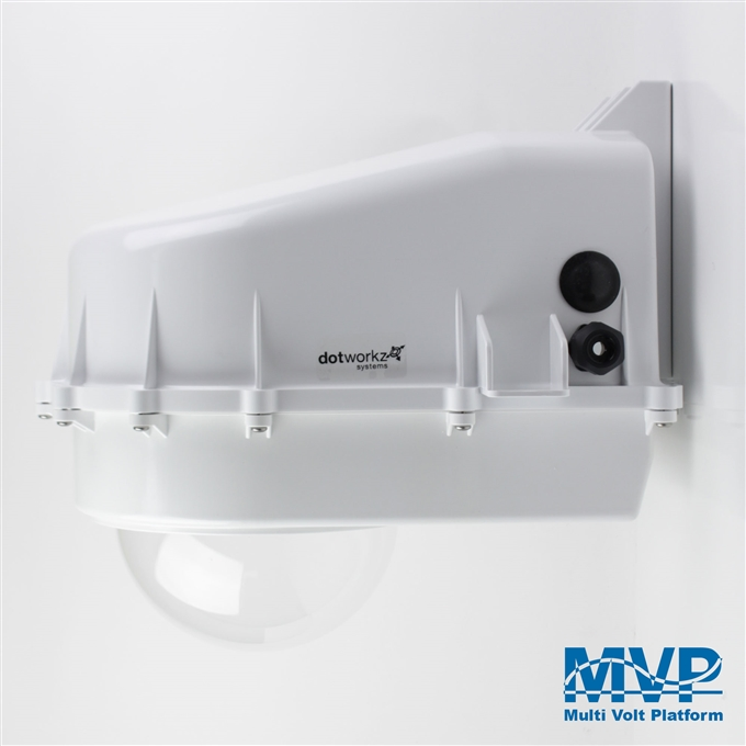 Dotworkz D2 Tornado Dual Blower Camera Enclosure IP68 with MVP (D2-TR-MVP)