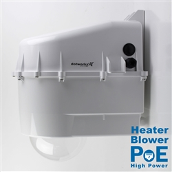 Dotworkz D3 Heater Blower Camera Enclosure IP68 with High Power PoE (D3-HB-POE-HP)