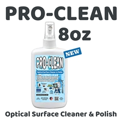 Dotworkz Pro-Clean Lens Cleaning Solution 8oz (DW-8OZ-SOL)
