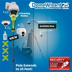 DomeWizard 25 - Elevated Cleaning System with Multiple Cleaning Modes (DW-PKG-25-CF)