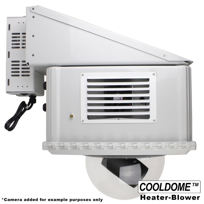 Dotworkz HD12 COOLDOME™ Active Cooling and Heater Blower Broadcasting Camera Enclosure (HD12-CD-HB)