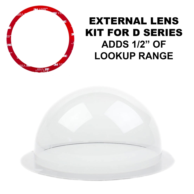 External Mounted Lens Kit for D2 and D3 (KT-CLNS-EXT)