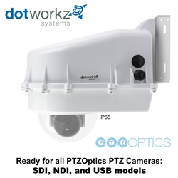 PTZoptics Camera Ready Dotworkz D2 Base Model Camera Enclosure IP68 (PTZO-BASE)