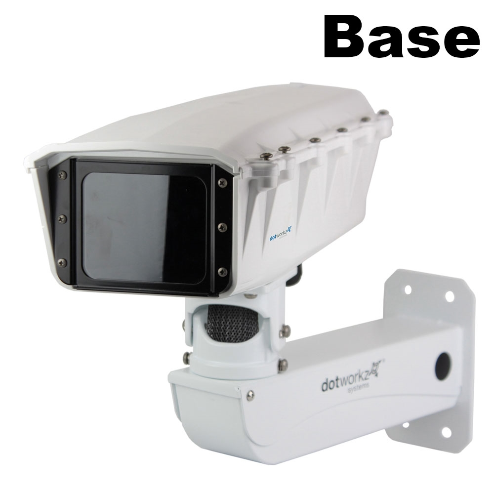 Populair S-Type IP66 Camera Housing and Stainless Steel Arm (ST-BASE-SS) AG28