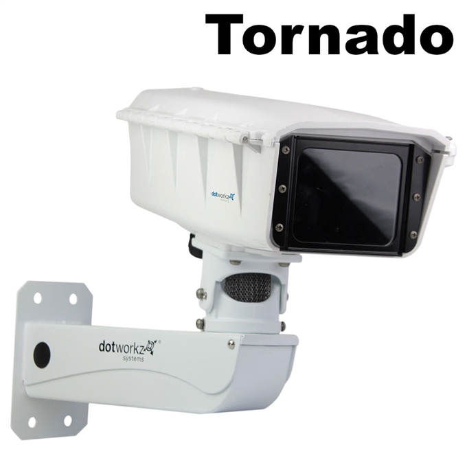 S-Type IP66 Tornado 2-Fan Camera Housing and Stainless Steel Arm (ST-TR-MVP-SS)