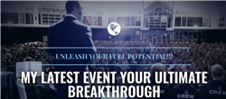 2 VIP tickets to 3 hour evening BREAKTHROUGH Seminar w Chris Howard - EMAIL REQUIRED
