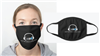 WBAI LOGO FACE MASK - BLACK
