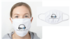 WBAI LOGO FACE MASK - WHITE