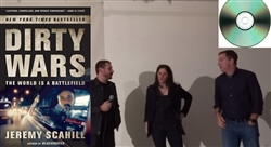 "Jeremy Scahill Super Pack - ""Dirty Wars"" Film and Paperback book and Jeremy speaks in Brooklyn with Laura Poitras and Glenn Greenwald"