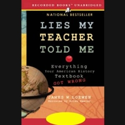 Lies my Teacher Told me Audio Book -CD