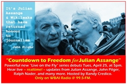 Assange Countdown To Freedom Series- CD