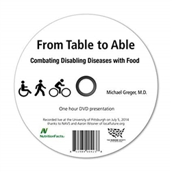From Table to Able DVD