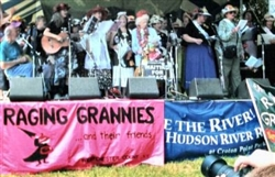 The Raging Grannies with Pete Seeger at Clearwater-DVD
