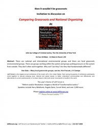 Comparing Grassroots and National Organizing-DVD
