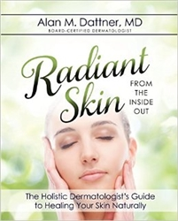 Radiant Skin From Inside Out (book)  plus- Spa Technologies Omega Ceuticals Serum