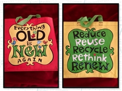 Everything Old Is New Again Reusable Shopping Bag