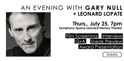 Ticket to An Evening with Gary Null + Leonard Lopate - CREDIT/DEBIT CARD ONLY