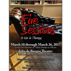 Tickets to Five Sessions: A War in Therapy