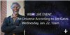 Ticket to Jim Gates Event - Jan. 22