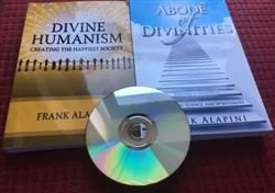Abode of Divinities, Divine Human 2 Book Pack with Bonus Interview CD