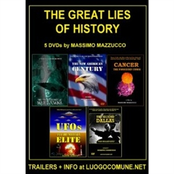 THE GREAT LIES IN HISTORY BONUS 6 DVD COLLECTION