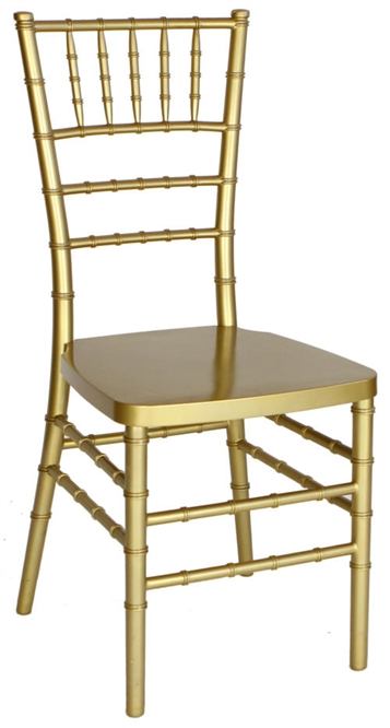 Cheap Gold  Discount Resin Chiavari Chair
