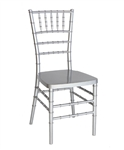 Cheap Silver Resin Chiavari Chairs, Wholesale Prices Ballroom Banquet Chairs,
