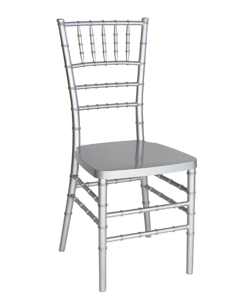 Astonishing Silver Resin Chiavari Chair Steel Core Free Cushion Caraccident5 Cool Chair Designs And Ideas Caraccident5Info