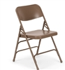 Wholesale Beige Metal Folding Chair