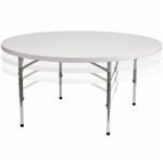 Round Folding Table, Commercial Hotel Quality Folding Table