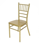GOLD VENUE WEDDING ALUMINUM CHAIRS