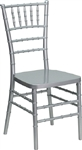 Silver Resin Chiavari Chair