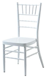 WHITE ALUMINUM CHEAP CHIAVARI CHAIRS