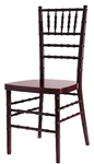 Stacking Mahogany  Chiavari Chair : Wholesale Chiavari Chairs Gold