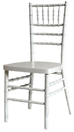 Miami Chiavari Chairs Florida White Chiavari Chair