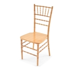 Wholesale Natrual Wood Chiavari ballroom Chair